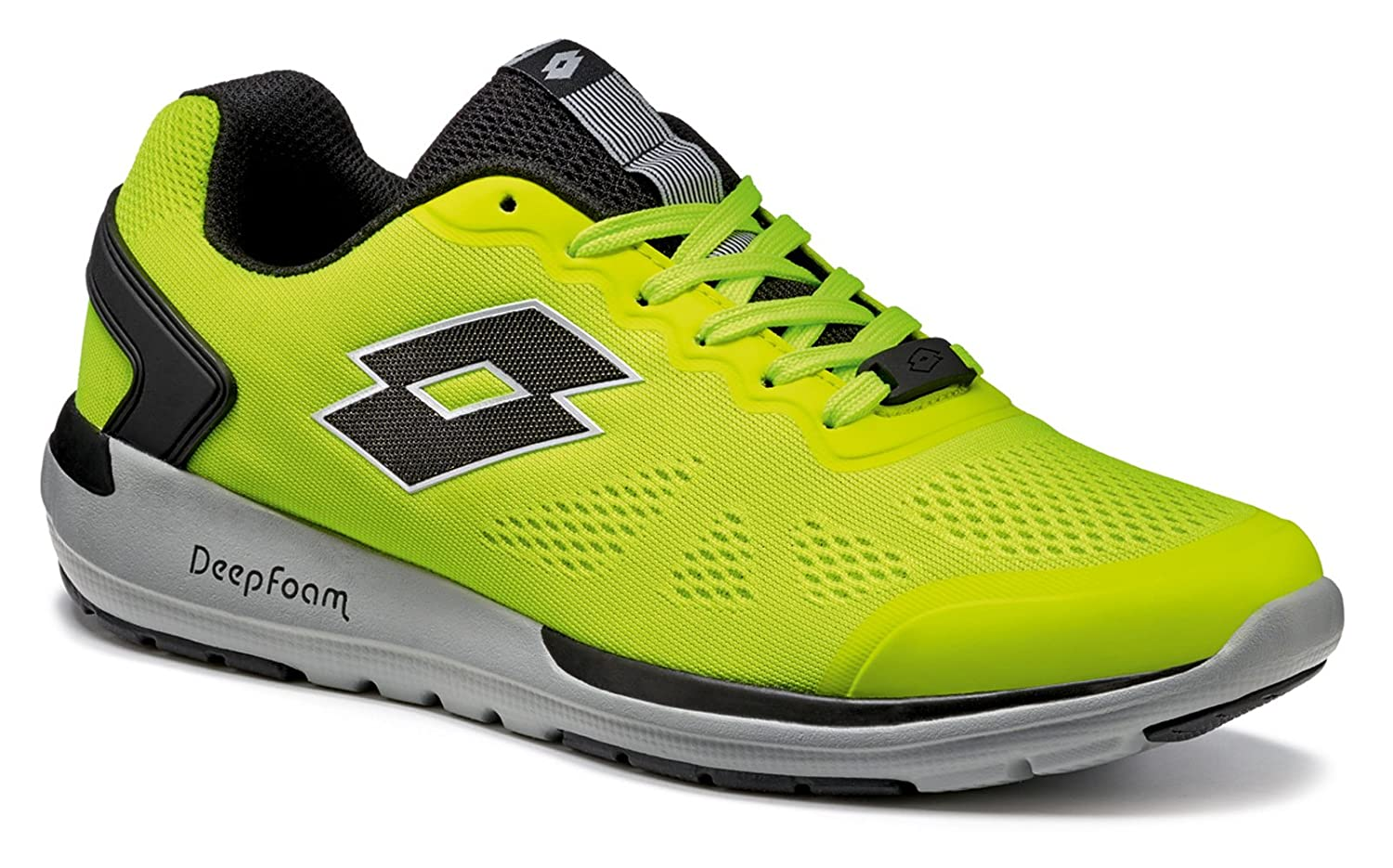 Lotto - Zapatillas de running para hombre amarillo yellow safety/black 46 EU