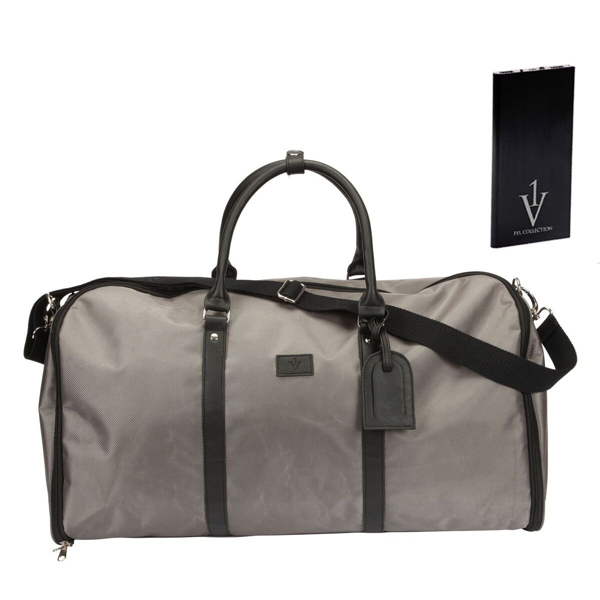 Convertible Garment Duffle Bag for Men|Carry On Suit Travel Bags|With Powerbank