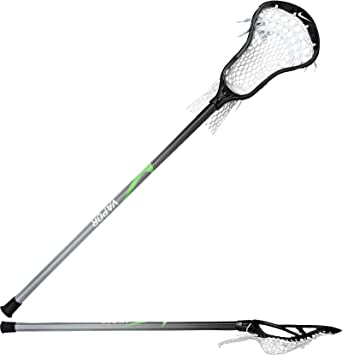 Nike Men's Lakota U on Vapor Complete Attack Lacrosse Stick, (Black/White/