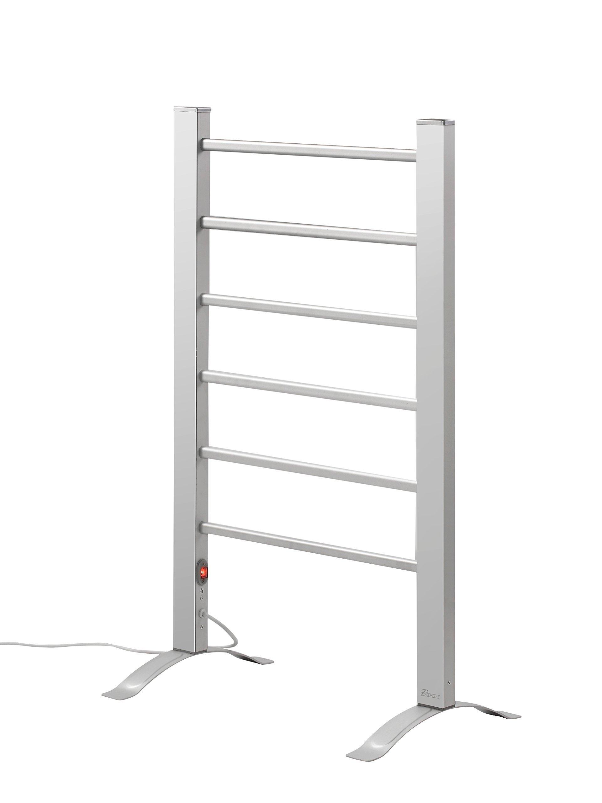 Pursonic TW300 6-Bar Freestanding or Wall Mountable Towel Warmer