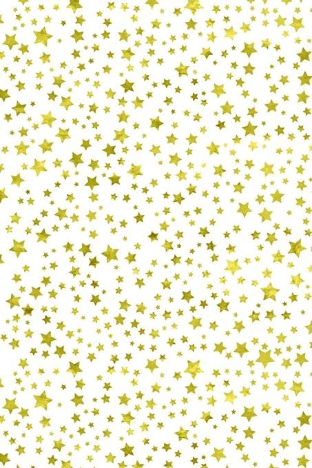 Color dorado estrellas con rústico Accent patrón silueta de hoja ...