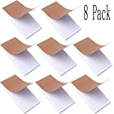 Bangbuy Memo Notepad, Small Notebook College Ruled Paper Small Memo Notebook Grocery List Notepad for