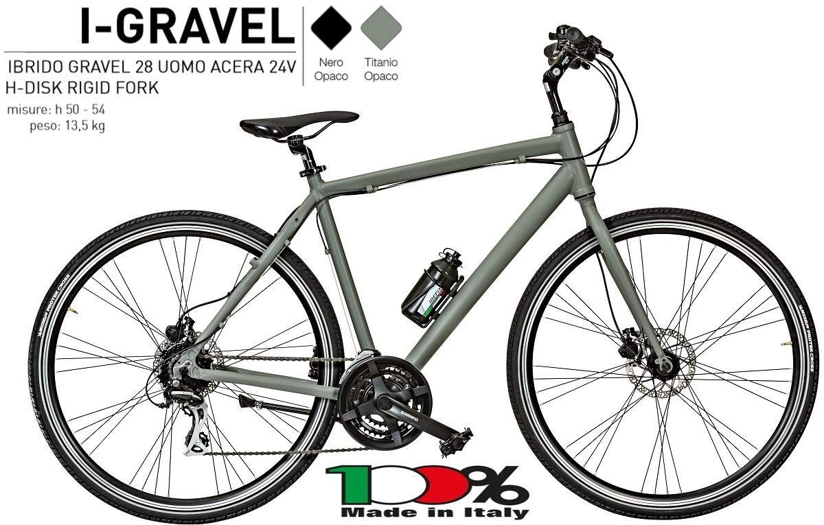 CICLI PUZONE Bicicleta híbrida Aluminio Medida 28 Hombre híbrido ...