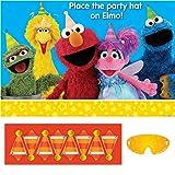 amscan 271672 Party Game | Sesame Street