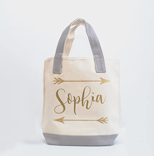 046aa6a07ddda7 Image Unavailable. Image not available for. Color  Personalized Bridesmaid  Tote ...