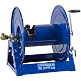"Coxreels 1125-4-100 Steel Hand Crank Hose Reel, 1/2"" Hose I.D., 100' Hose Capacity, 3,000 PSI, without Hose, Made in USA"