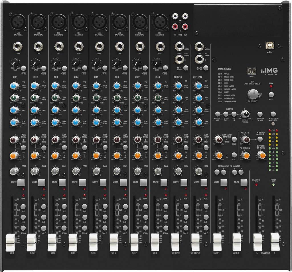 IMG 20.283 - Mesa de mezcla (10 canales): Amazon.es: Instrumentos ...