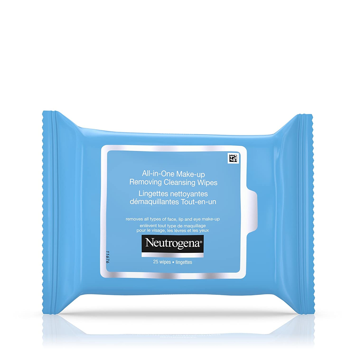 Neutrogena Hydrating Face Wipes, Makeup Wipes with Aloe and Cucumber, 25 Count