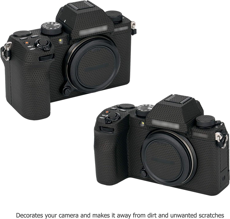 Anti-Scratch Anti-Wear Camera Body Skin Cover Protector Film for Fujifilm Fuji X-S10 XS10 Mirrorless Camera Matrix Black