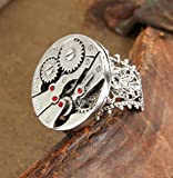 Elope Standard Watch Gear Ring, Silver