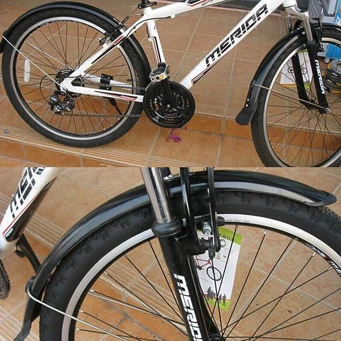 ELYQBDL 20 Ciclo de la Bicicleta Fender Set Guardabarros ...