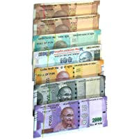 Muren Artificial Coupon Playing Currency Notes for Fun Paper (80 X 7 Notes)