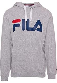 Fila Luxury Fashion Herren 681090002 Schwarz Sweatshirt