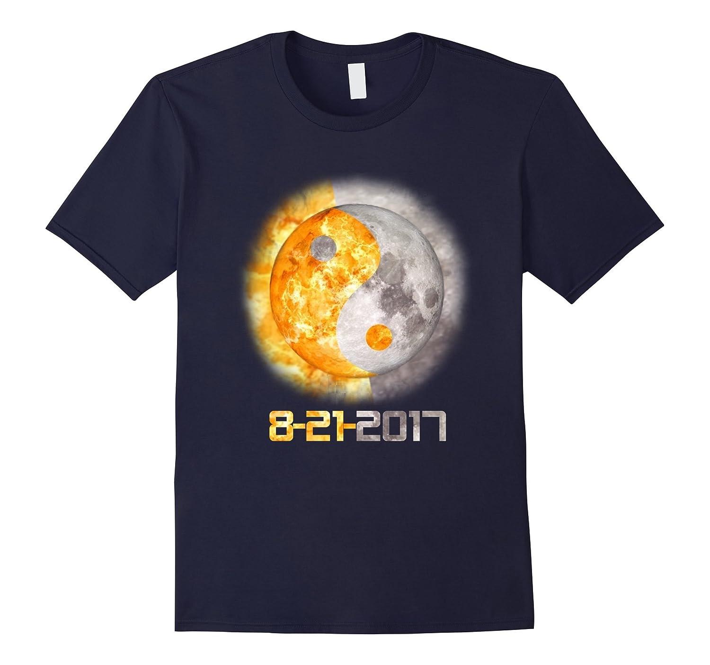 Yin Yang Total Solar Eclipse August 21st, 2017 T-Shirt-Art