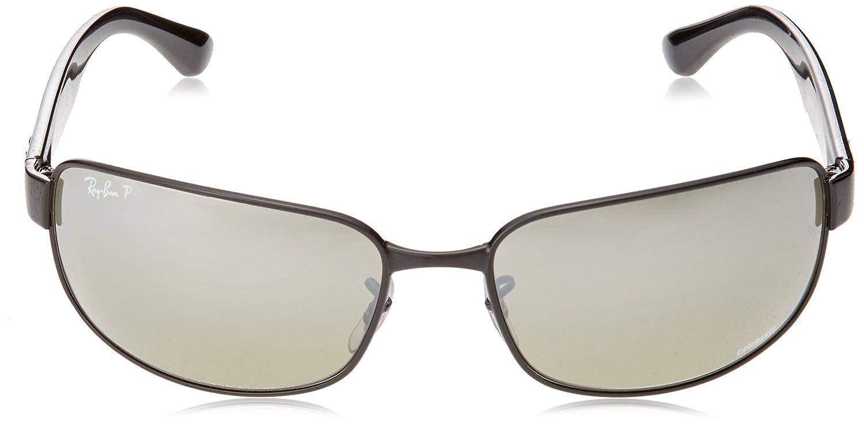 Ray-Ban Junior 0RB3566CH Gafas de Sol, Shiny Black, 65 para Hombre ...