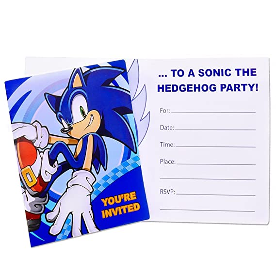 BirthdayExpress Sonic The Hedgehog Party Supplies