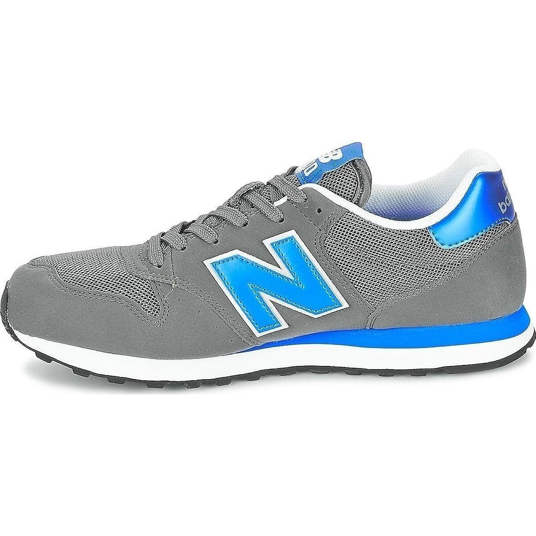 New Balance Gm500Ksr - Zapatillas para Hombre, Color Gris/Azul, Talla 44.5