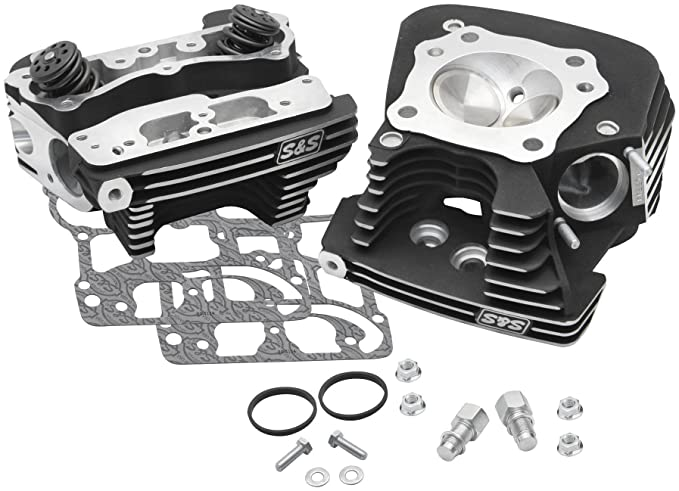 Amazon com: S&S Cycle Super Stock 91cc Cylinder Head Kit