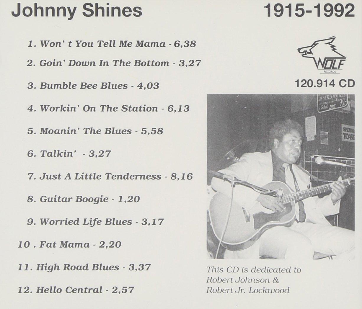 Johnny Shines (1915-92)
