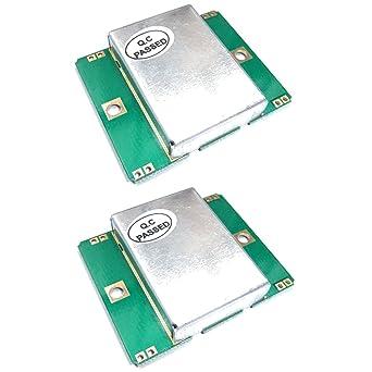 Amazon.com: 2 unidades HB100 Sensor de microondas Bi-Static ...