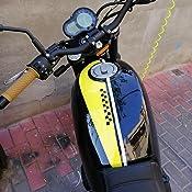1 par puños para Manillar universales de Goma, Suave Antideslizante para Moto Bicicleta Cafe Racer, 22 mm marrón Oscuro