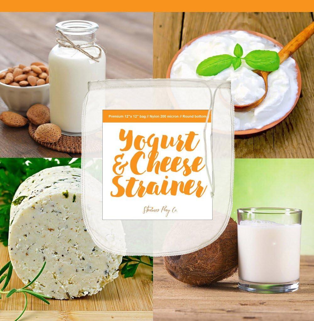 Bolsa de filtro colador de Co yogur y queso bag-large 12
