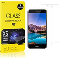 Huawei P8 Lite 2017 Screen Protector, Bear Village® Tempered Glass Screen Protector [Lifetime Warranty], 9H Hardness Screen Protector Film for Huawei P8 Lite 2017-2 Pack