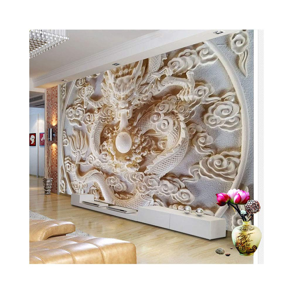 Amazon Com Amazhen Custom 3d Wall Murals Wallpaper Dragon