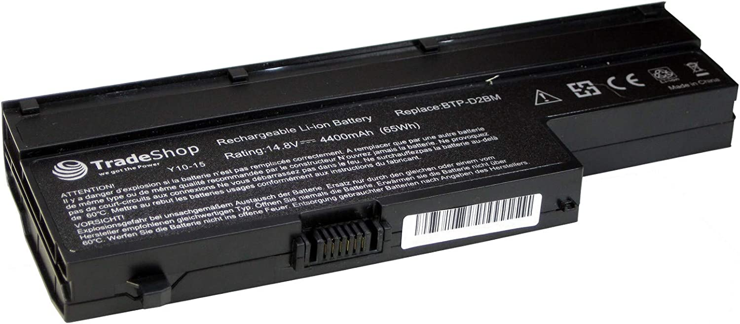 97358 MD 97446 MD 97460 MD 4400mAh 97090 MD Battery for Medion MD 97440 MD 97760 Akoya MD 98340 E-6210 E-6211 E-6212 P-6611 P-6612 P-6613 P-6618 P-6619 P-6620 Replaces BTP-D2BM BTP Btp-Cnbm 97620 MD