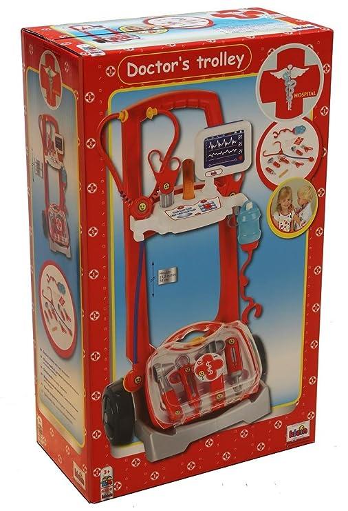 Theo Klein - Carro de limpieza y aspiradora (THEOK 4300): Amazon.es:  Juguetes y juegos