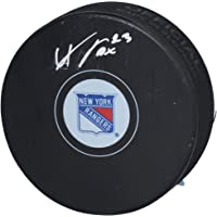 $42 » Adam Fox New York Rangers Autographed Hockey Puck - Fanatics Authentic Certified - Autographed NHL Pucks