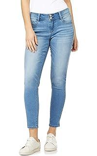 WallFlower Women/'s Juniors Stretch Luscious Curvy Skinny Jeans