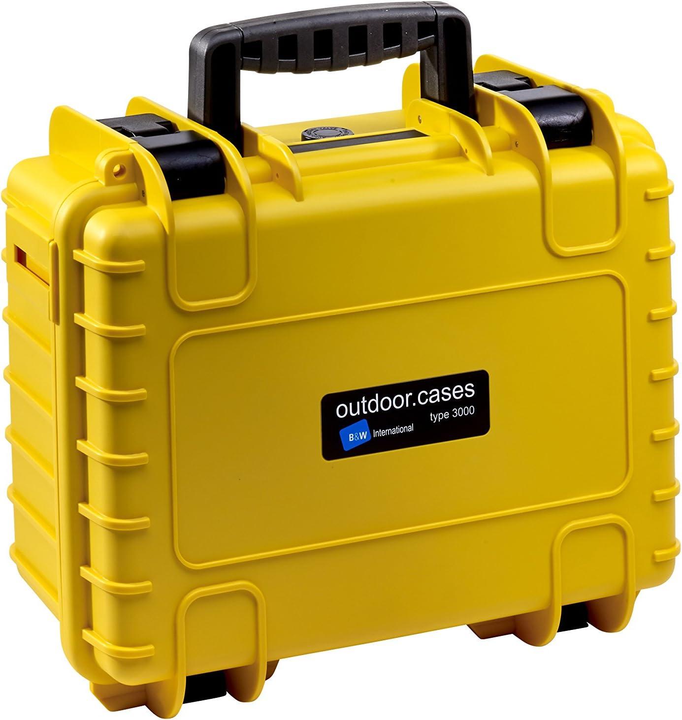 B/&W International Type 3000 Outdoor Case with SI Foam
