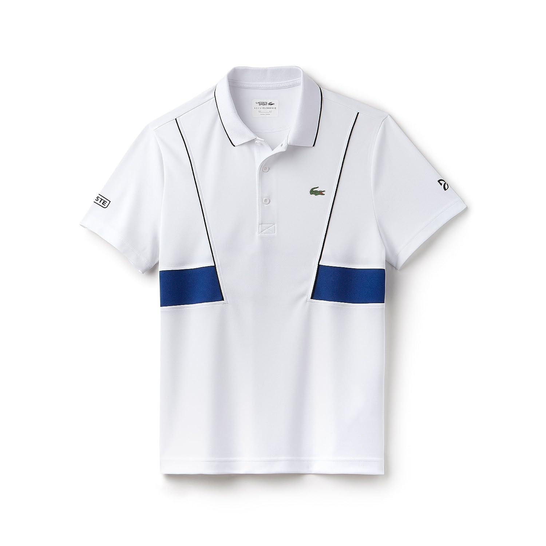 Lacoste - Polo - para Hombre Blanc/Noir-Marino XXXX-Large: Amazon ...
