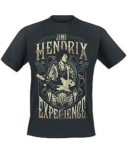 Jimi Hendrix Art Nouveau T-shirt noir M