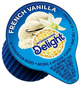 International Delight, French Vanilla, Single-Serve Coffee Creamers, 288 Count, Shelf