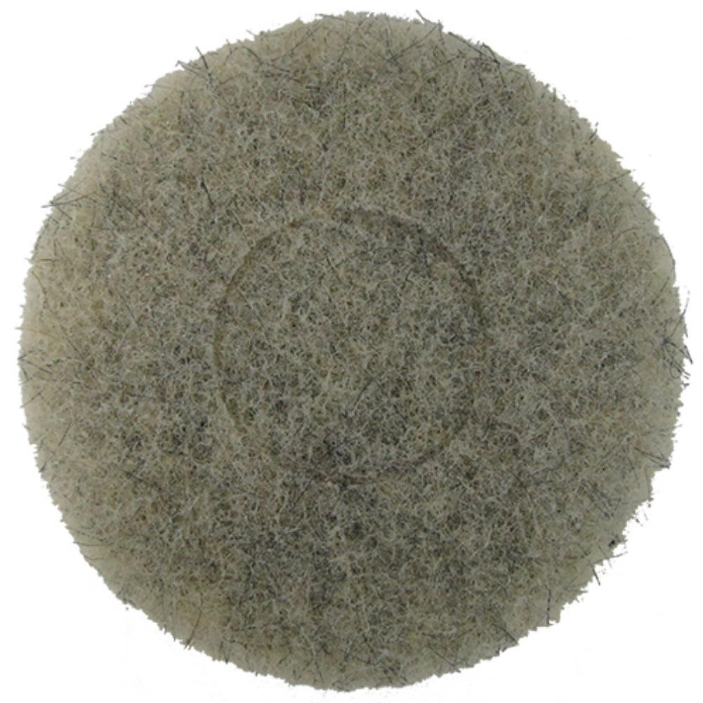 Norton Ultra Grizzly Hog's Hair Pad - 7 3/4 Inch Diameter