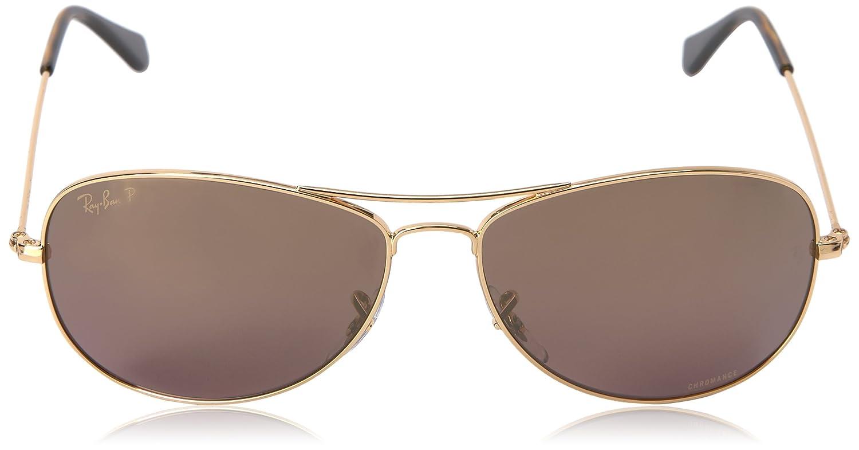 f68f055795c Amazon.com  Ray-Ban Unisex RB3562 Chromance Lens Pilot Sunglasses ...