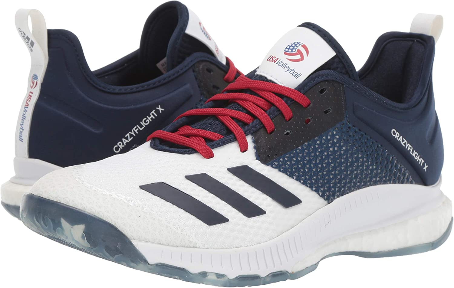 adidas Damen Crazyflight X 3 Usa Volleyball Shoes