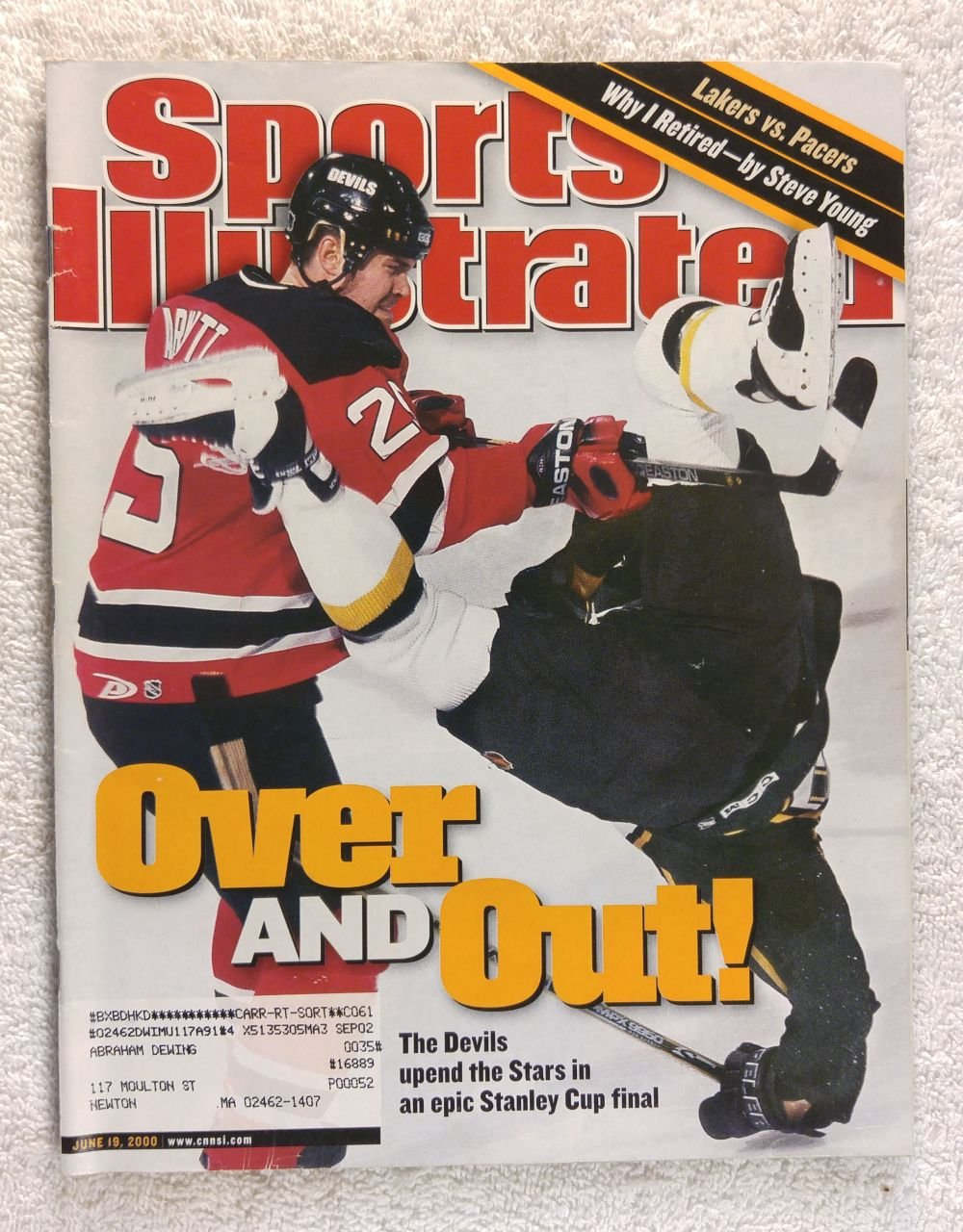official photos d1493 7f743 Amazon.com: Jason Arnott - New Jersey Devils - 2000 Stanley ...