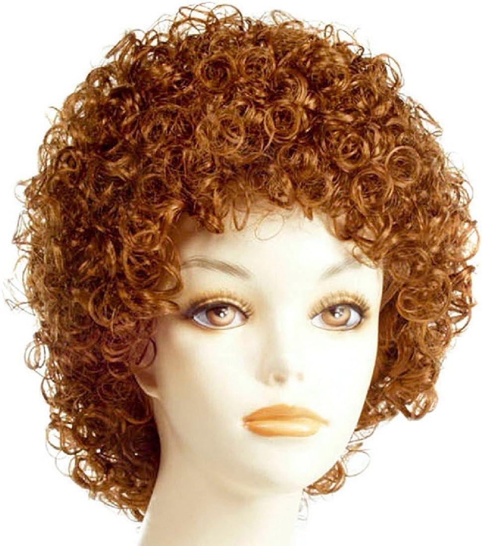 Morris LW154ORD Annie Orange /& Red Wig