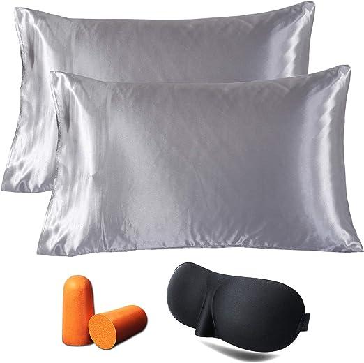 Amazon Com Jinhongrui Satin Pillowcase For Hair And Skin Super