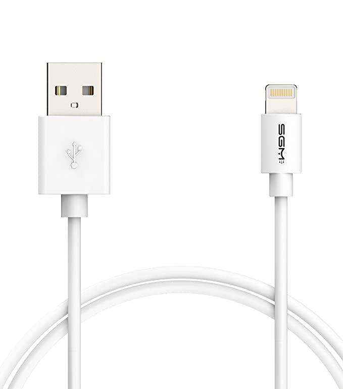 Iphone 5s Cable Apple Mfi Certified Sgm 3 Feet 1 Meter