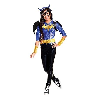 Rubie's Costume Kids DC Superhero Girls Deluxe Batgirl Costume, Large: Toys & Games