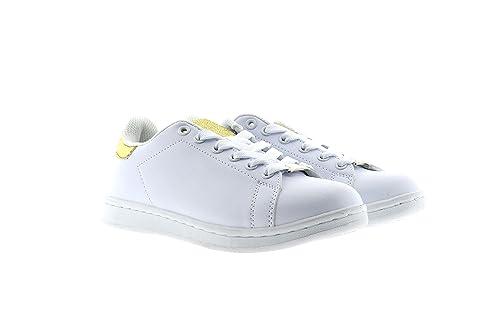 Amazon Demax Blancas Polipiel Deportivos Blanco Zapatillas Talla 40 Rp80nx