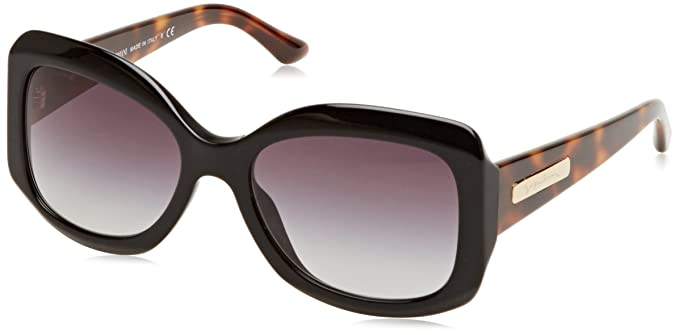 Armani Mujer 0AR8002 50178G 55 Gafas de sol, Negro (Black ...