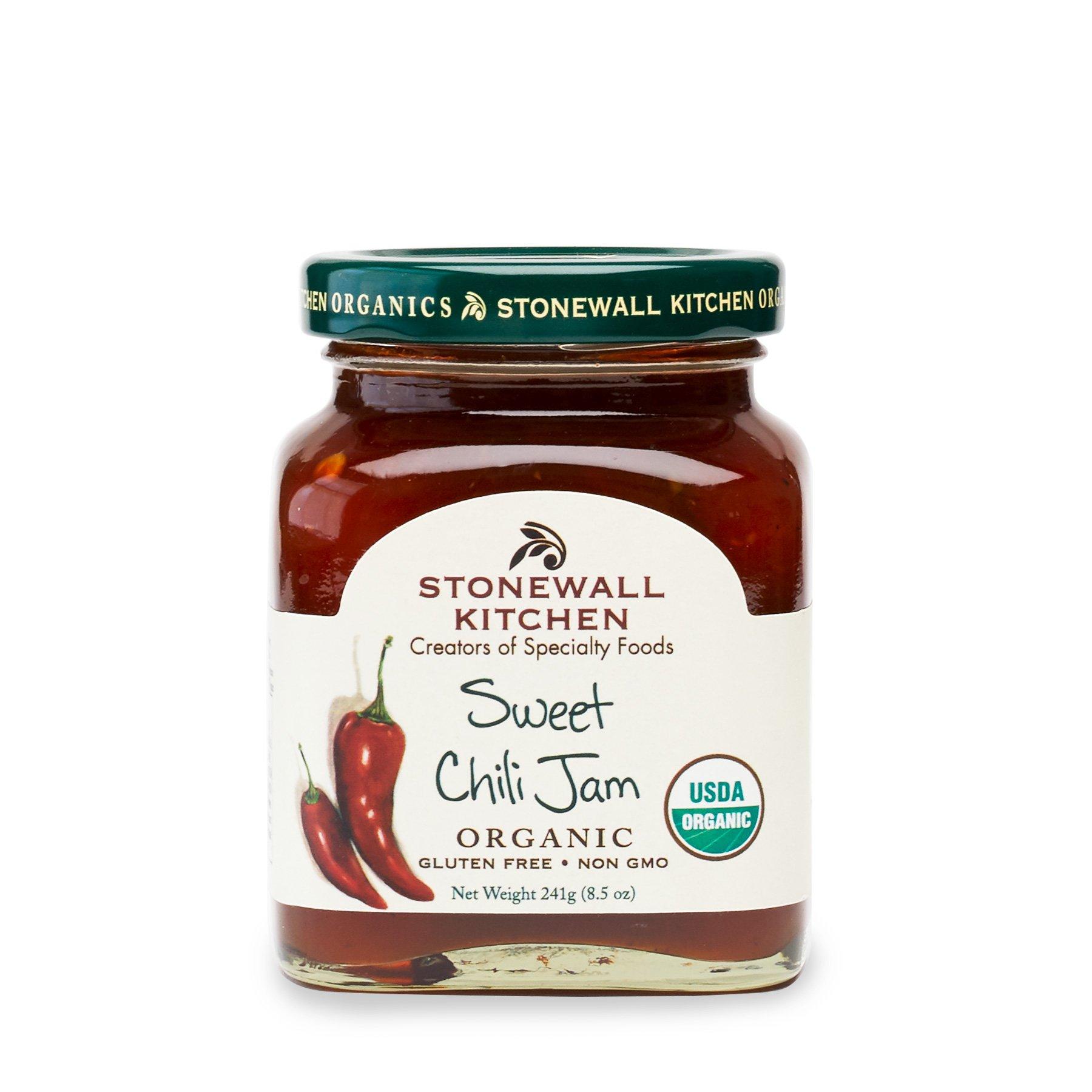 Stonewall Kitchen Organic Sweet Chili Jam, 8.5 Ounce
