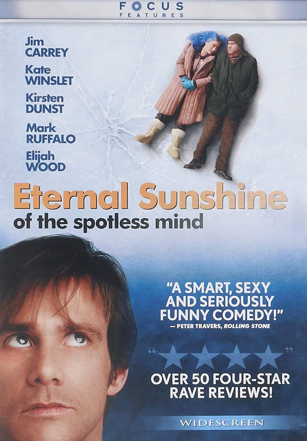 Amazon.com: Eternal Sunshine Of The Spotless Mind: Jim Carrey, Kate Winslet, Kirsten Dunst, Mark Ruffalo, Elijah Wood, Tom Wilkinson, Jane Adams, David Cross, Deirdre O'Connell, Debbon Ayer, Michel Gondry, Steve Golin, Anthony
