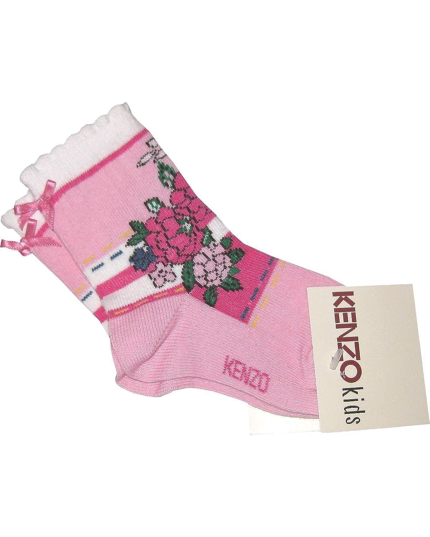 Kenzo - Calcetines - para bebé niña rosa rosa: Amazon.es: Ropa y accesorios