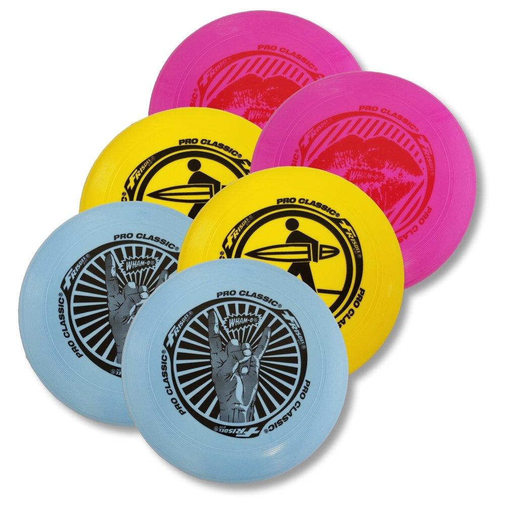 Wham-O Pro-Classic with U-Flex Frisbee (6-Pack)